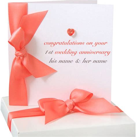 Wedding Anniversary Wishes Card Maker by Write Name On 1st Wedding Anniversary Greeting Cards