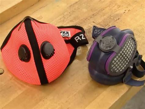 video  dust mask  woodworkers wear