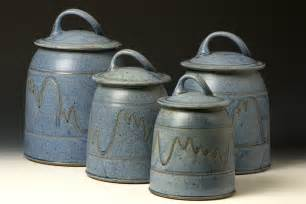 quail run pottery canister set western kitchen pinterest stoneware canister set kitchen storage jars uncommongoods