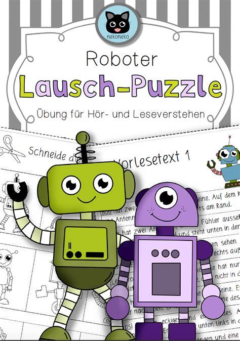lausch puzzle roboter differenziert hoerverstehen