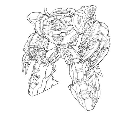 coloring pages transformers grimlock free coloring pages of grimlock transformer