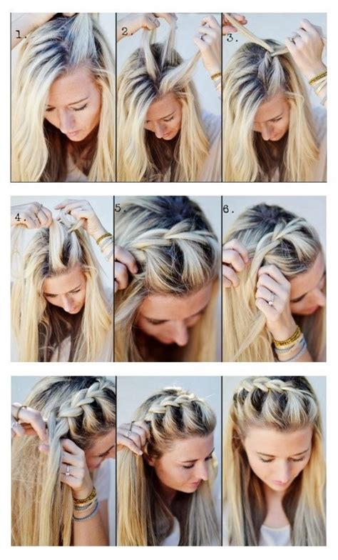 tutorial gaya rambut kepang sederhana gambar sanggul kepang newhairstylesformen2014 com