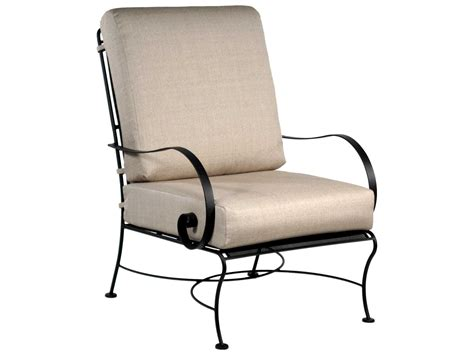 wrought iron lounge chairs ow avalon wrought iron lounge chair 4355 cc