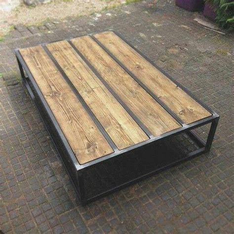 muebles de madera y hierro muebles hierro mueble tv x en hierro y madera banqueta