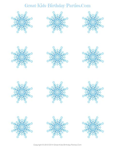 printable blue snowflakes cute free cupcake wrappers car interior design