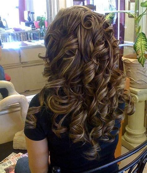 curly hair with lowlights 15 brunette hairstyles for you to try pretty designs