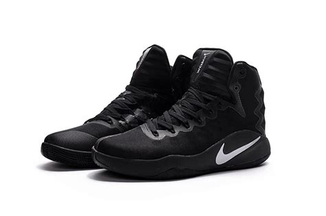 black nike basketball shoes cheap nike hyperdunk 2016 gs black basketball shoes for