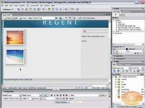 tutorial dreamweaver cs3 css styling links dreamweaver cs3 tutorial youtube