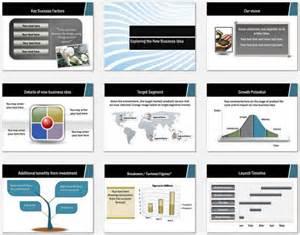 powerpoint business plan wave design