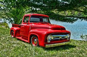 1956 ford f100 truck photograph by tim mccullough