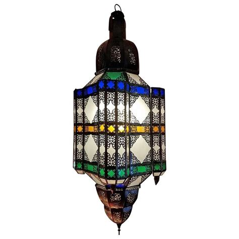 Moroccan Lantern L by Moroccan Glass Lantern The Beast For Sale At 1stdibs