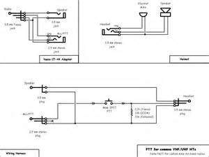 icom ptt headset wiring diagrams wiring diagram with