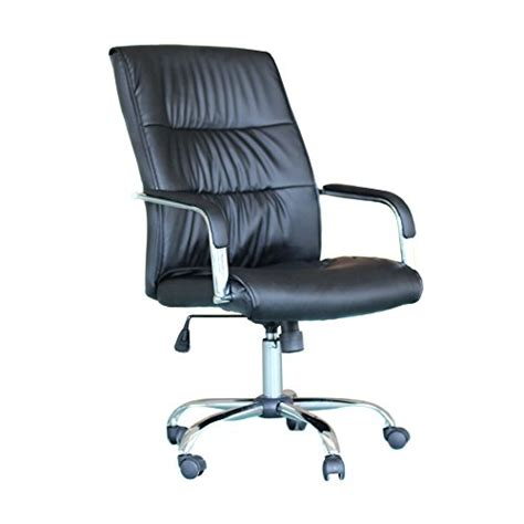 Office Chairs Store Ebs Modern Swivel Pu Leather Executive High Chrome Base