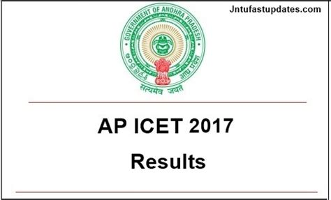 Jntu Mba 2st Sem Results 2014 Manabadi by Ap Icet Results 2017 With Marks Released Andhra Pradesh