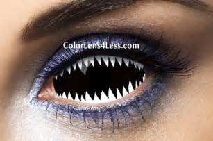 colored contacts white jaws white sclera contact lens pair 019 98 00