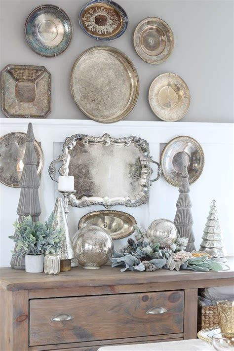 Tray Decor by Best 25 Silver Tray Decor Ideas On Silver