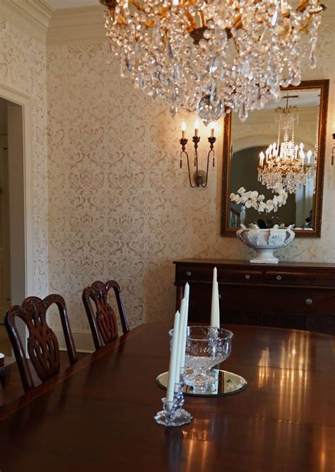 233 best images about stenciled painted dining rooms on