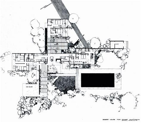 kaufmann house floor plan richard neutra kaufmann house floor plan palm springs