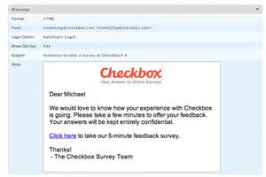 checkbox survey share