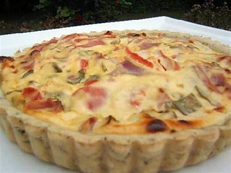 recette de tarte sal 233 e 224 la ricotta et jambon sec d auvergne sur une pate bris 233 e 224 l origan