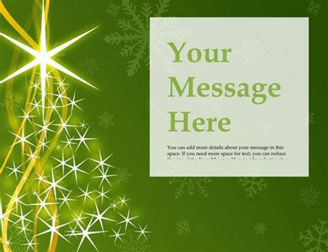 Christmas Tree Flyer Templates