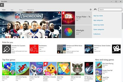 windows 10 app ui tutorial windows 10 store app updated with ui changes