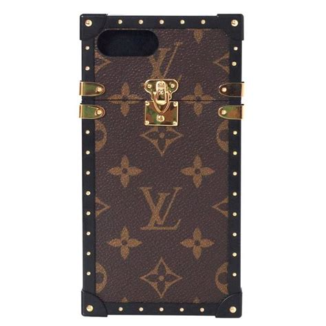 Luggage Black Beige Iphone All Hp louis vuitton new 17 sold out monogram eye trunk phone for iphone 7 plus at 1stdibs