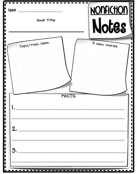 biography notes graphic organizer search results for summarizing nonfiction graphic