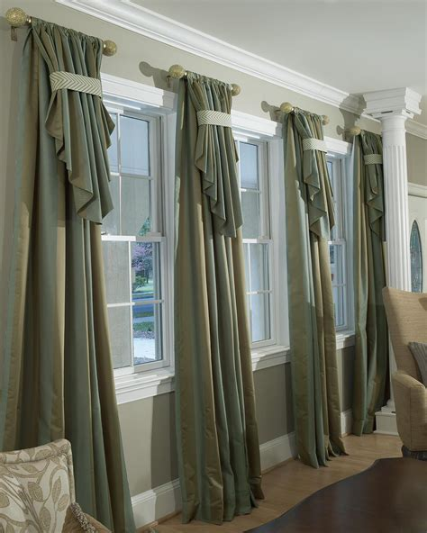 window treatments with blinds and curtains decorating den interiors shelley rodner c i d custom