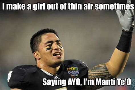 Manti Te O Meme - best of the manti te o memes smosh
