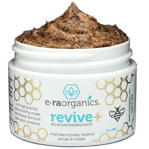 1set Mud Mask Scrub microdermabrasion scrub mask in one manuka honey walnut exfoliator