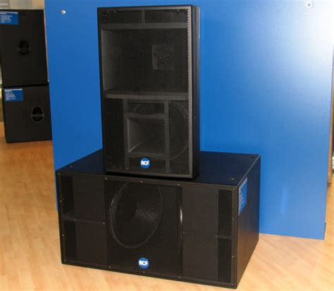Speaker Rcf new wave of rcf speakers sends sound ripples to the end of the earth