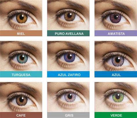 imagenes ojos de colores lentes de contacto de color blog de 211 ptica