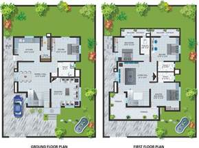 bungalow style floor plans modern bungalow house design with floor plan terrific