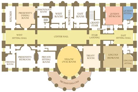 White House Floor Plan Residence | wallpaperscholar com