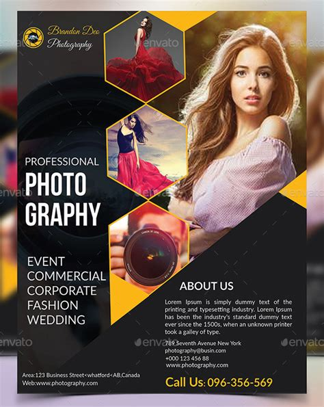 100 Fashion Photography Flyer Psd Templates For Free Premium Free Psd Templates For Photographers