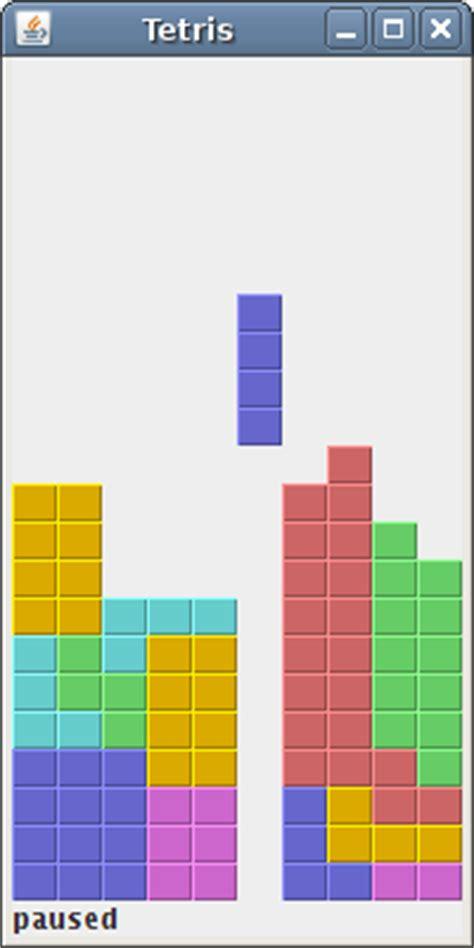 Java Tutorial Tetris | java tetris game
