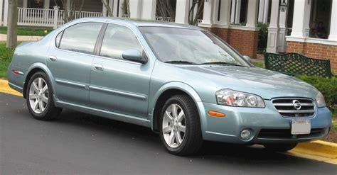 2003 Nissan Maxima Gxe by 2003 Nissan Maxima Gxe Sedan 3 5l V6 Auto