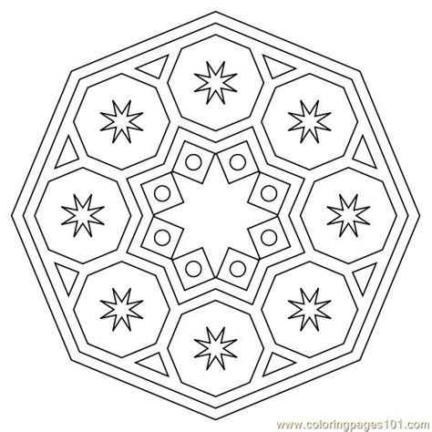 circle coloring page  shapes coloring