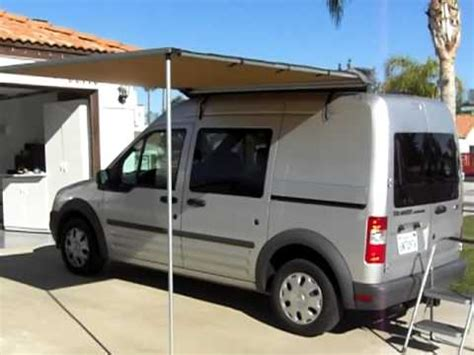 Ford Transit Awning Video 001 Youtube