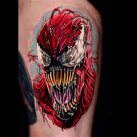 carnage tattoo carnage by brown