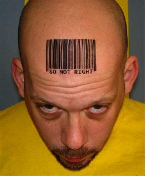 barcode tattoo fake 30 barcode branding breakthroughs