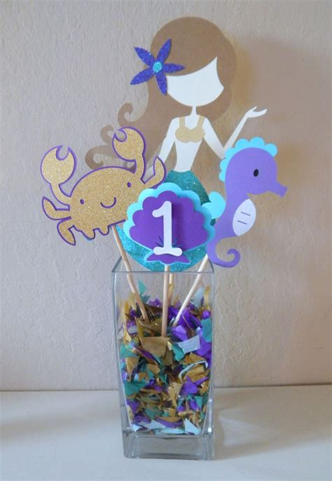 mermaid themed decorations 25 best ideas about purple birthday decorations on