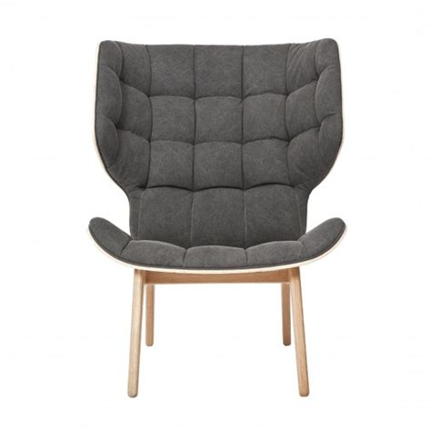 fluffy armchair mammoth fluffy lounge chair norr 11 ambientedirect com