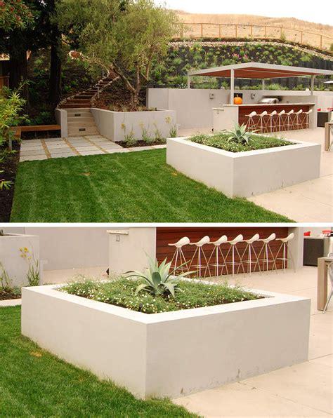 Concrete Outdoor Planters by 10 Excellent Exles Of Built In Concrete Planters