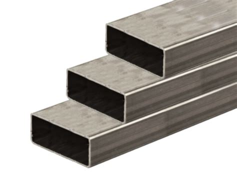 rectangular steel section hollow rectangle mild steel box section tube select length