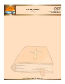 bible letterhead