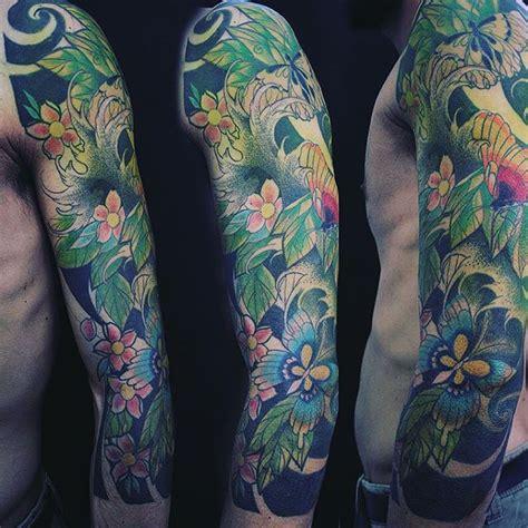 asian flower tattoos japanese flowers names and their meanings