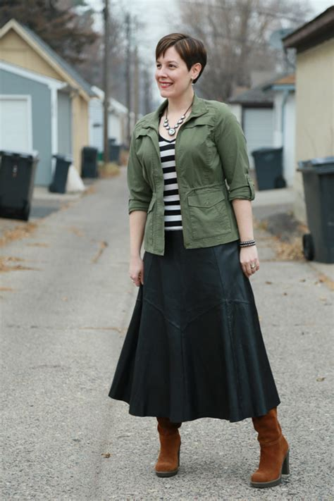 leather midi skirt archives already pretty where style