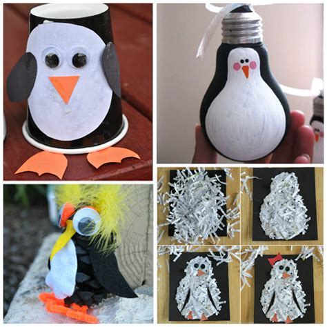 penguin craft projects creative penguin crafts for to make crafty morning